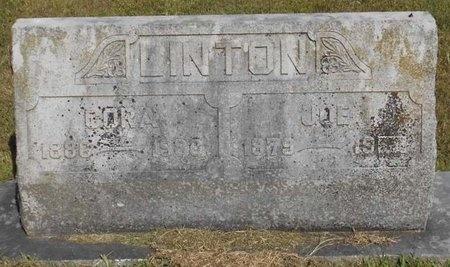 LINTON, CORA - McDonald County, Missouri   CORA LINTON - Missouri Gravestone Photos