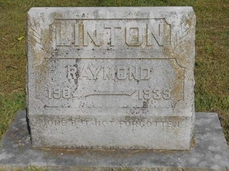 LINTON, RAYMOND - McDonald County, Missouri   RAYMOND LINTON - Missouri Gravestone Photos