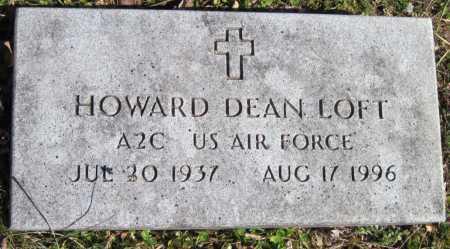 LOFT, HOWARD DEAN - McDonald County, Missouri | HOWARD DEAN LOFT - Missouri Gravestone Photos