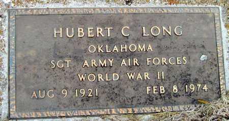 "LONG, HUBERT C. ""HUGH"" VETERAN WWII - McDonald County, Missouri | HUBERT C. ""HUGH"" VETERAN WWII LONG - Missouri Gravestone Photos"