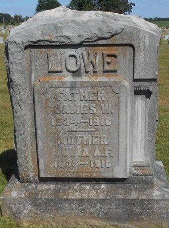 RUDD LOWE, JULIA ANN F. - McDonald County, Missouri | JULIA ANN F. RUDD LOWE - Missouri Gravestone Photos