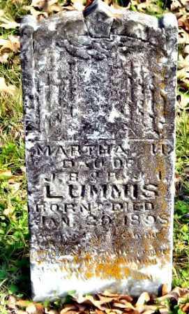 LUMMIS, MARTHA H - McDonald County, Missouri   MARTHA H LUMMIS - Missouri Gravestone Photos