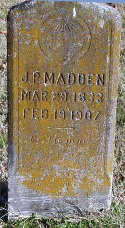 MADDEN, JOHN PATRICK - McDonald County, Missouri | JOHN PATRICK MADDEN - Missouri Gravestone Photos
