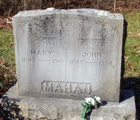 BEELER MAHAN, MARY MELINDA - McDonald County, Missouri | MARY MELINDA BEELER MAHAN - Missouri Gravestone Photos