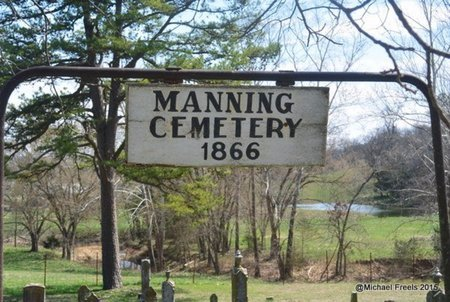 *, MANNING CEMETERY SIGN - McDonald County, Missouri | MANNING CEMETERY SIGN * - Missouri Gravestone Photos