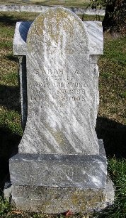 MARMADUKE, SARAH A. - McDonald County, Missouri | SARAH A. MARMADUKE - Missouri Gravestone Photos