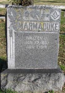 MARMADUKE, WALTER D. - McDonald County, Missouri | WALTER D. MARMADUKE - Missouri Gravestone Photos