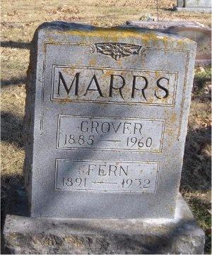 MARRS, FERN - McDonald County, Missouri   FERN MARRS - Missouri Gravestone Photos