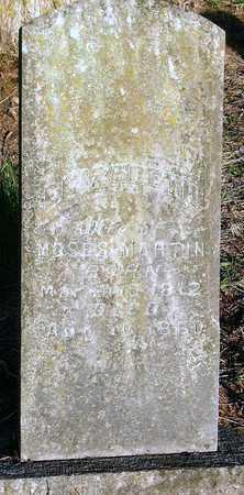 MARTIN, ELIZABETH - McDonald County, Missouri   ELIZABETH MARTIN - Missouri Gravestone Photos