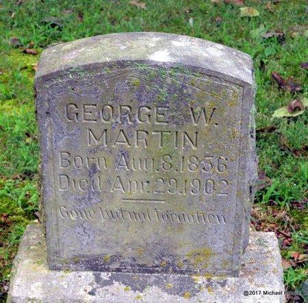 MARTIN, GEORGE W. - McDonald County, Missouri   GEORGE W. MARTIN - Missouri Gravestone Photos