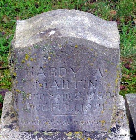 MARTIN, HARDY A. - McDonald County, Missouri | HARDY A. MARTIN - Missouri Gravestone Photos