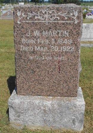 MARTIN, J. W. - McDonald County, Missouri | J. W. MARTIN - Missouri Gravestone Photos