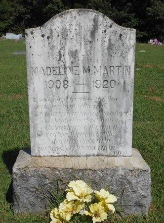 MARTIN, MADELINE M. - McDonald County, Missouri   MADELINE M. MARTIN - Missouri Gravestone Photos