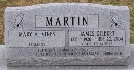 MARTIN, JAMES GILBERT REV - McDonald County, Missouri | JAMES GILBERT REV MARTIN - Missouri Gravestone Photos