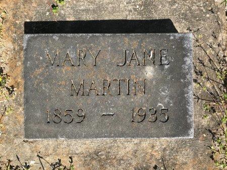 MARTIN, MARY JANE  - McDonald County, Missouri | MARY JANE  MARTIN - Missouri Gravestone Photos