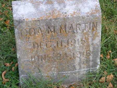 MARTIN, ODA M - McDonald County, Missouri   ODA M MARTIN - Missouri Gravestone Photos