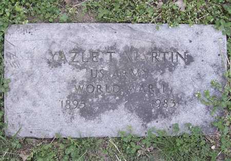 MARTIN, YAZLE T (VETERAN WWI) - McDonald County, Missouri   YAZLE T (VETERAN WWI) MARTIN - Missouri Gravestone Photos