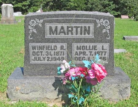MARTIN, MOLLIE LOUYIS - McDonald County, Missouri   MOLLIE LOUYIS MARTIN - Missouri Gravestone Photos