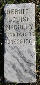 MCCULLY, BERNICE LOUISE - McDonald County, Missouri | BERNICE LOUISE MCCULLY - Missouri Gravestone Photos