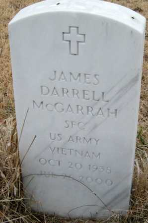 MCGARRAH, JAMES DARRELL VETERAN VIETNAM - McDonald County, Missouri   JAMES DARRELL VETERAN VIETNAM MCGARRAH - Missouri Gravestone Photos