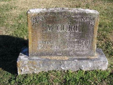 "MCGUIRE, MARY SAPHRONA ""FRONIE"" - McDonald County, Missouri | MARY SAPHRONA ""FRONIE"" MCGUIRE - Missouri Gravestone Photos"