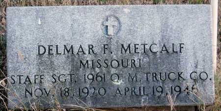 METCALF, DELMAR F (VETERAN) - McDonald County, Missouri | DELMAR F (VETERAN) METCALF - Missouri Gravestone Photos