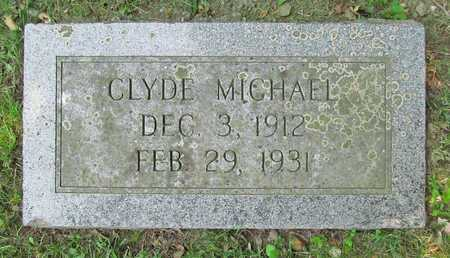 MICHAEL, CLYDE - McDonald County, Missouri | CLYDE MICHAEL - Missouri Gravestone Photos
