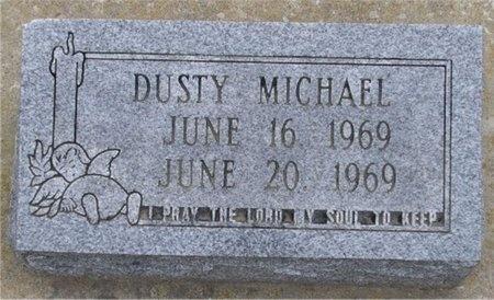 MICHAEL, DUSTY - McDonald County, Missouri | DUSTY MICHAEL - Missouri Gravestone Photos