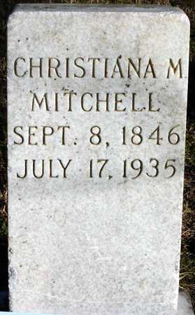MEYERS MITCHELL, CHRISTIANA M - McDonald County, Missouri | CHRISTIANA M MEYERS MITCHELL - Missouri Gravestone Photos