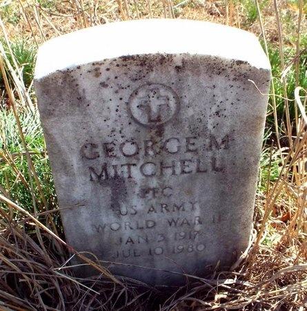 MITCHELL, GEORGE M VETERAN WWII - McDonald County, Missouri | GEORGE M VETERAN WWII MITCHELL - Missouri Gravestone Photos