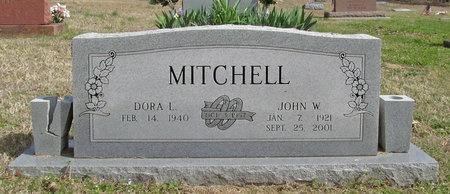 MITCHELL, JOHN W - McDonald County, Missouri | JOHN W MITCHELL - Missouri Gravestone Photos