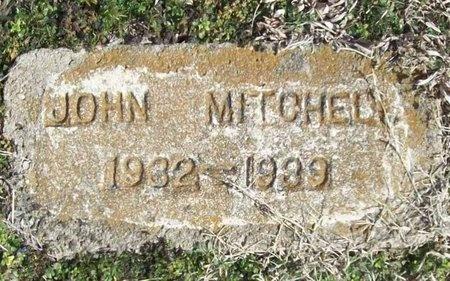 MITCHELL, JOHN - McDonald County, Missouri | JOHN MITCHELL - Missouri Gravestone Photos