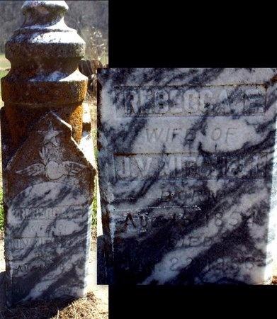 MITCHELL, REBECCA E - McDonald County, Missouri | REBECCA E MITCHELL - Missouri Gravestone Photos