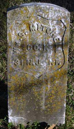 MITCHELL, WILLIAM S (VETERAN UNION) - McDonald County, Missouri | WILLIAM S (VETERAN UNION) MITCHELL - Missouri Gravestone Photos