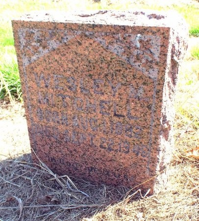 MITCHELL, WESLEY MOORE - McDonald County, Missouri | WESLEY MOORE MITCHELL - Missouri Gravestone Photos