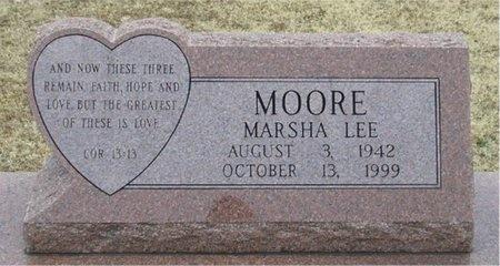 MOORE, MARSHA LEE - McDonald County, Missouri   MARSHA LEE MOORE - Missouri Gravestone Photos
