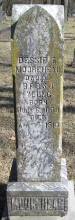 MOOREHEAD, DESSIE B - McDonald County, Missouri | DESSIE B MOOREHEAD - Missouri Gravestone Photos