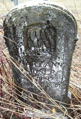 COPELAND MOSER, MARY ANN - McDonald County, Missouri | MARY ANN COPELAND MOSER - Missouri Gravestone Photos