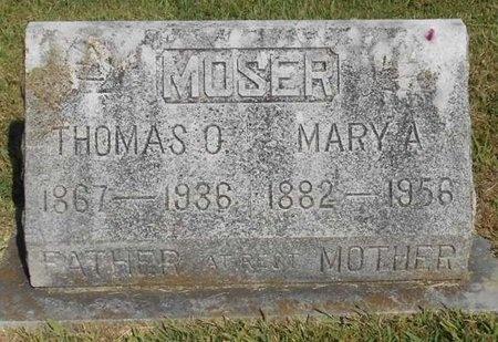MOSER, MARY ANN - McDonald County, Missouri | MARY ANN MOSER - Missouri Gravestone Photos