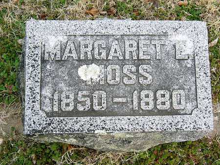 HALL MOSS, MARGARET CAROLINE - McDonald County, Missouri | MARGARET CAROLINE HALL MOSS - Missouri Gravestone Photos