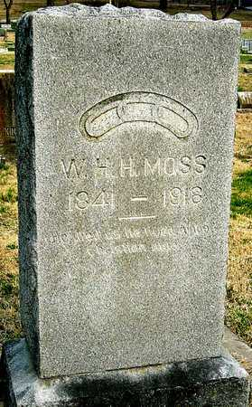 "MOSS, WILLIAM HENRY HARRISON ""BILLY"" - McDonald County, Missouri 
