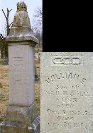 MOSS, WILLIAM EDWARD - McDonald County, Missouri | WILLIAM EDWARD MOSS - Missouri Gravestone Photos