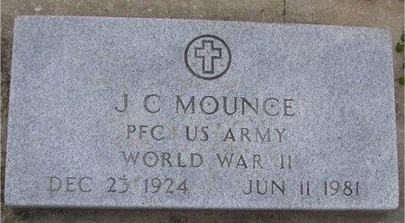 MOUNCE, J C (VETERAN WWII) - McDonald County, Missouri | J C (VETERAN WWII) MOUNCE - Missouri Gravestone Photos
