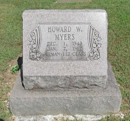 MYERS, HOWARD WAYNE - McDonald County, Missouri   HOWARD WAYNE MYERS - Missouri Gravestone Photos