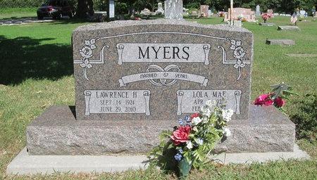 MYERS, LAWRENCE HOWARD - McDonald County, Missouri | LAWRENCE HOWARD MYERS - Missouri Gravestone Photos
