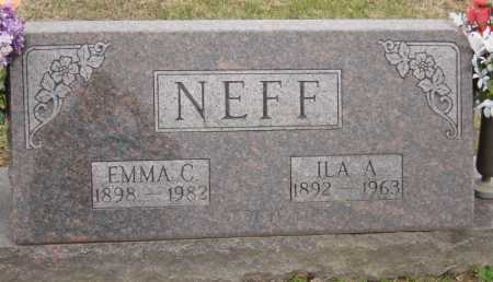 NEFF, ILA ADAM - McDonald County, Missouri | ILA ADAM NEFF - Missouri Gravestone Photos