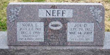 NEFF, NORA ESTHER - McDonald County, Missouri | NORA ESTHER NEFF - Missouri Gravestone Photos