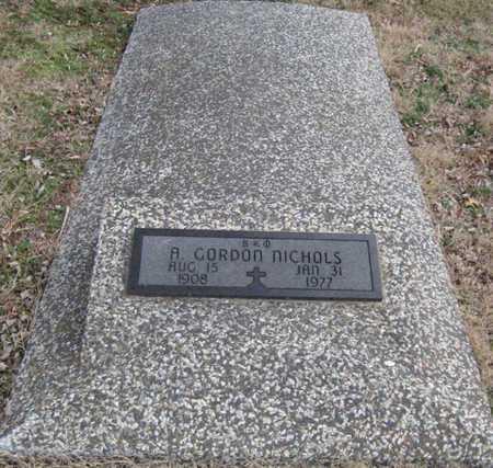 NICHOLS, A. GORDON - McDonald County, Missouri | A. GORDON NICHOLS - Missouri Gravestone Photos