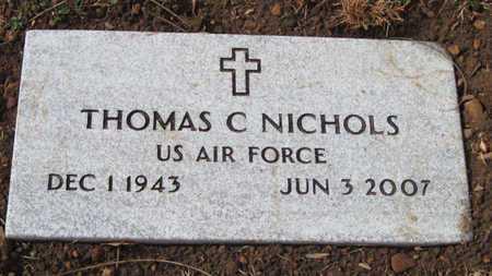 NICHOLS, THOMAS C JR (VETERAN) - McDonald County, Missouri | THOMAS C JR (VETERAN) NICHOLS - Missouri Gravestone Photos