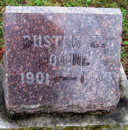 NODINE, BUSTER EDWARD - McDonald County, Missouri | BUSTER EDWARD NODINE - Missouri Gravestone Photos